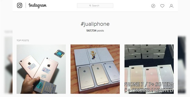 Jual Iphone IG